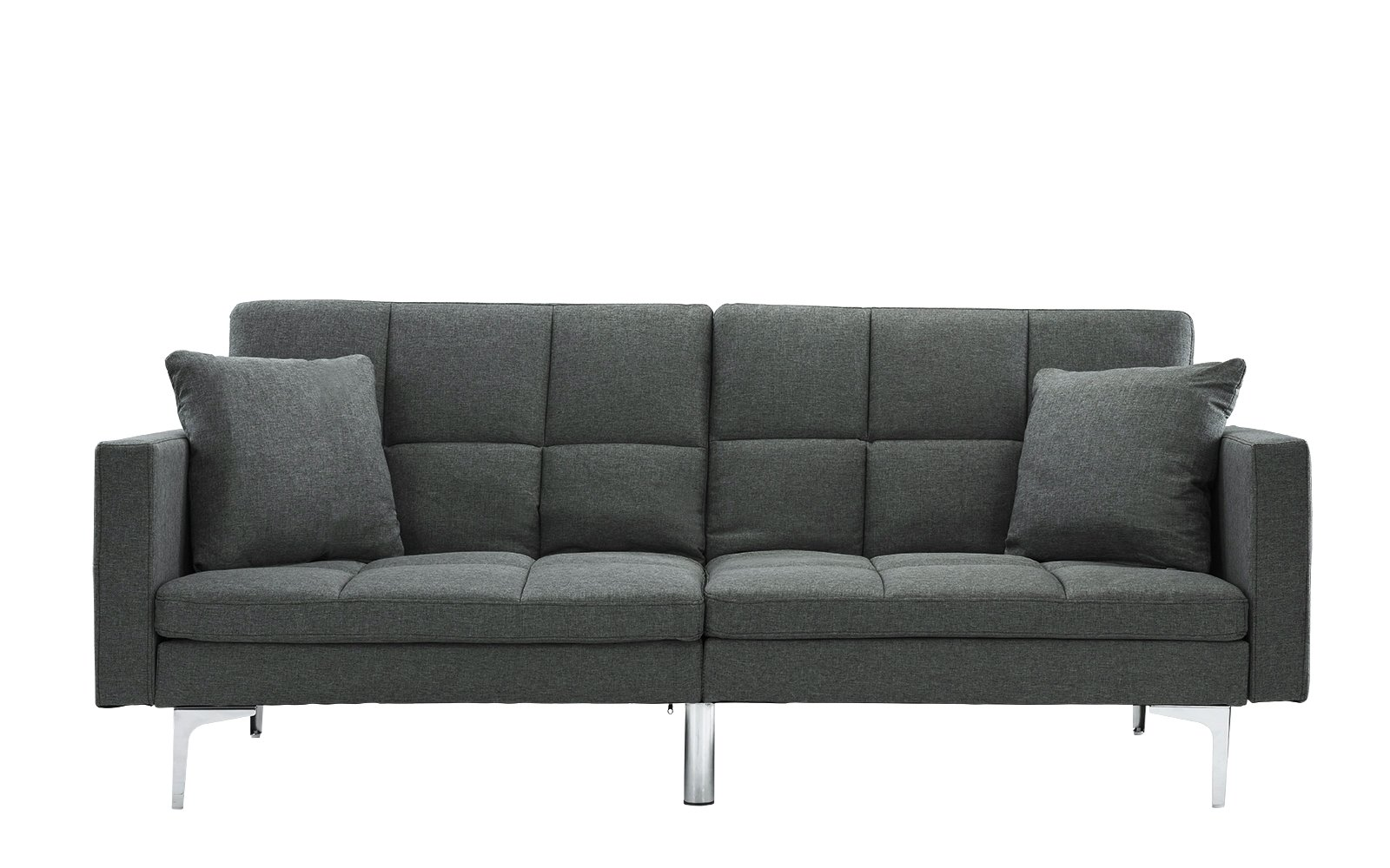 Super Savion Contemporary Box Tufted Sleeper Futon Sofas For Cjindustries Chair Design For Home Cjindustriesco