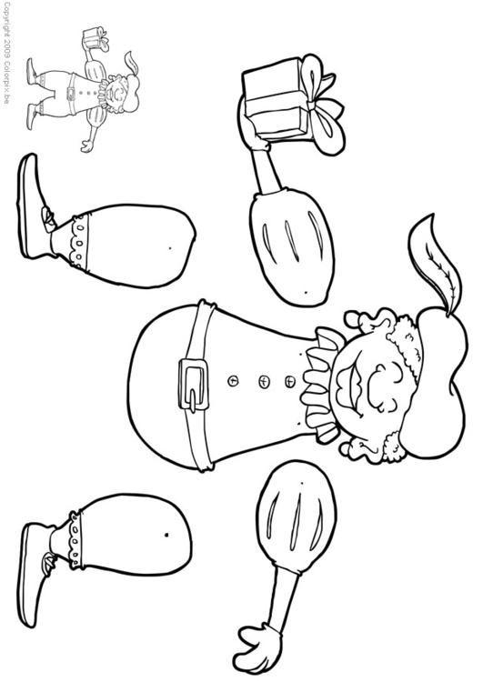 Sinterklaas Kleurplaat Peuters Schoen Black Pete Jumping Jack Crafts 14312 Crafts And Arts