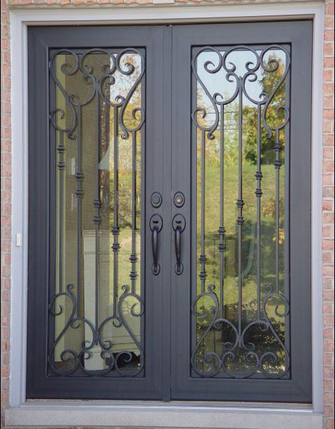 Pin By Leyla Alabyad On Ideas For The House Wrought Iron Doors