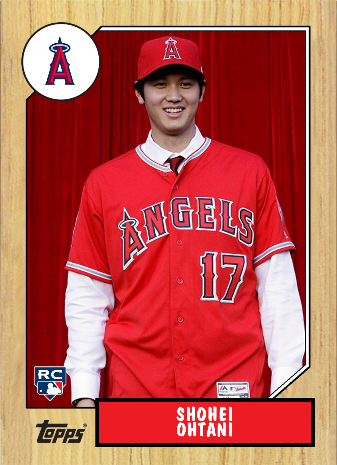 new style 16386 3fc9d Shohei Ohtani Los Angeles Angels of Anaheim RC | Favorite ...