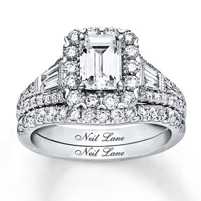 ce3f72315 Neil Lane Bridal Set 2-1/5 ct tw Diamonds 14K White Gold in 2019 ...