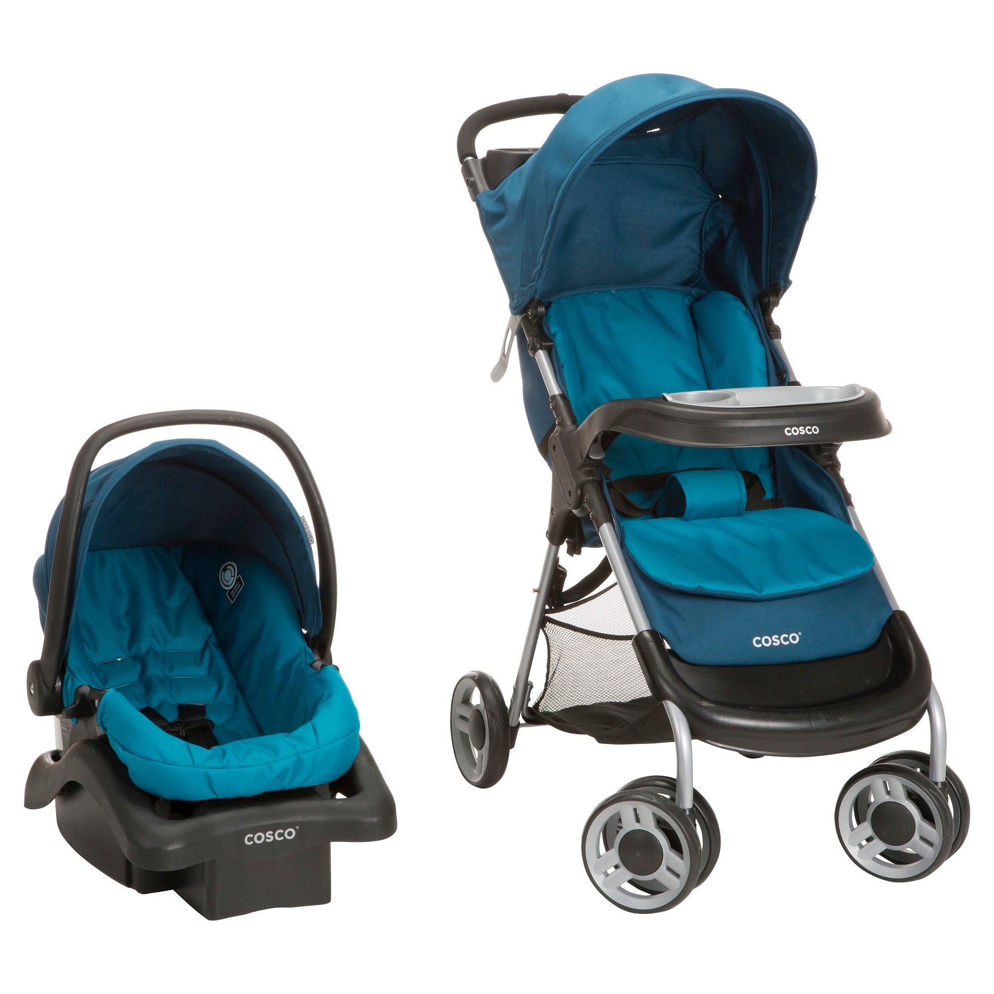 Cosco Lift & Stroll Plus Travel System Ocean Depth