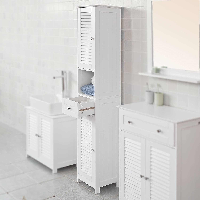 27++ Tall bathroom shelf ideas