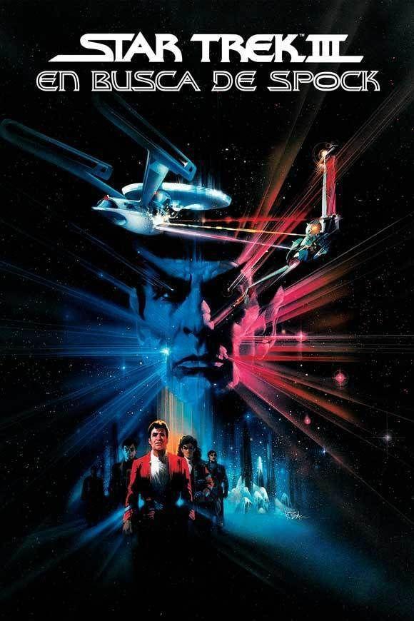 STAR TREK 3 THE SEARCH FOR SPOCK Movie POSTER 27x40 Spanish B Leonard Nemoy