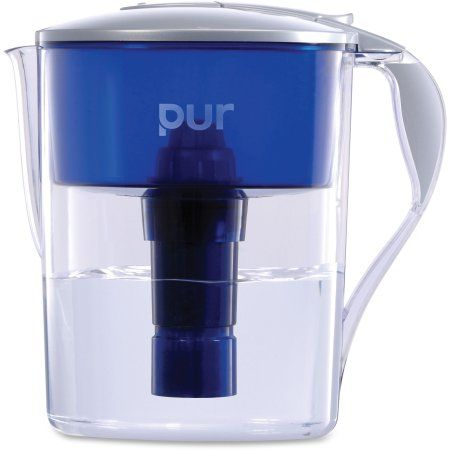 PUR Classic Pitcher Water Filter with LED 11 Cup, CR-1100C, Gray