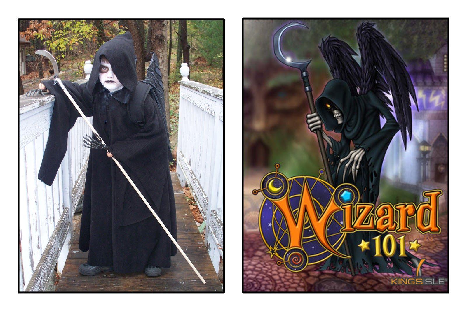 Make Do: DIY @Wizard101 Wraith Halloween Costume | Costumes