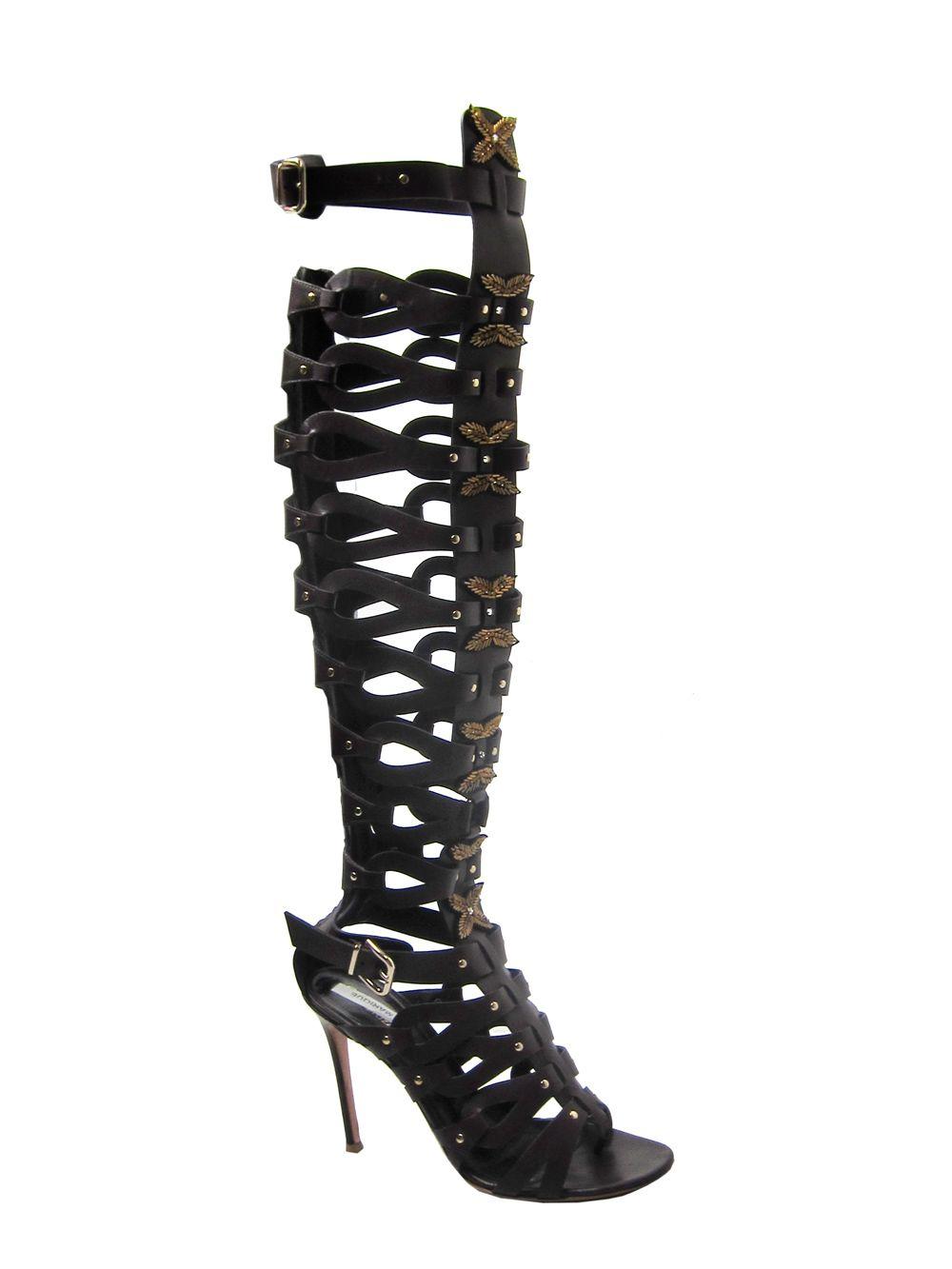 Altuzarra Black Stretch Sock Sandals tpoNH