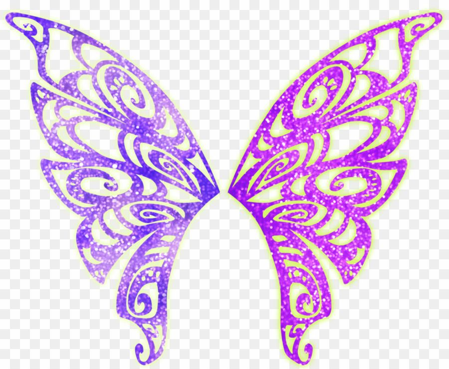 Download Butterfly Wings Png Hd Png Gif Base Butterfly Fairy Wings Butterfly Wings Silhouette Butterfly