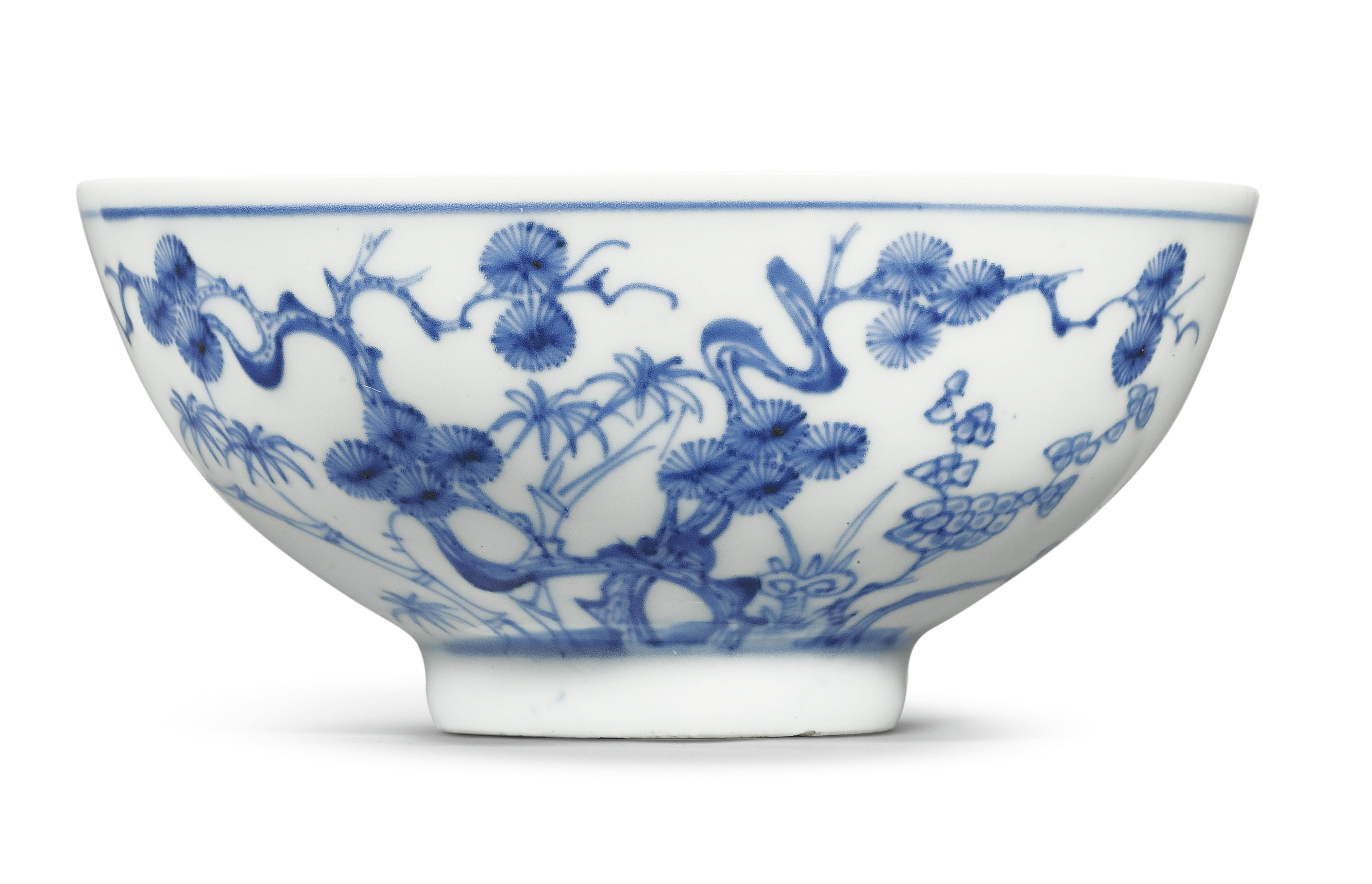 Blue And White Three Friends Bowl China Yongzheng Mark And Period Sotheby S Fine Chinese Ceramics And Works Of Art 09 Blue And White Chinese Ceramics Bowl