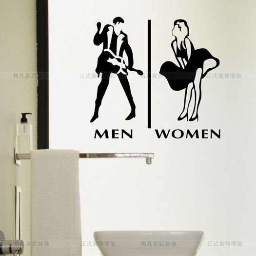 Pin By Bulsara Advertising On Funny WC Stickers Pinterest - Cheap bathroom signs