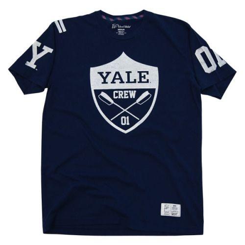 1d7cb23c Yale crew | Yale | College shirts, Crew shirt, Club shirts