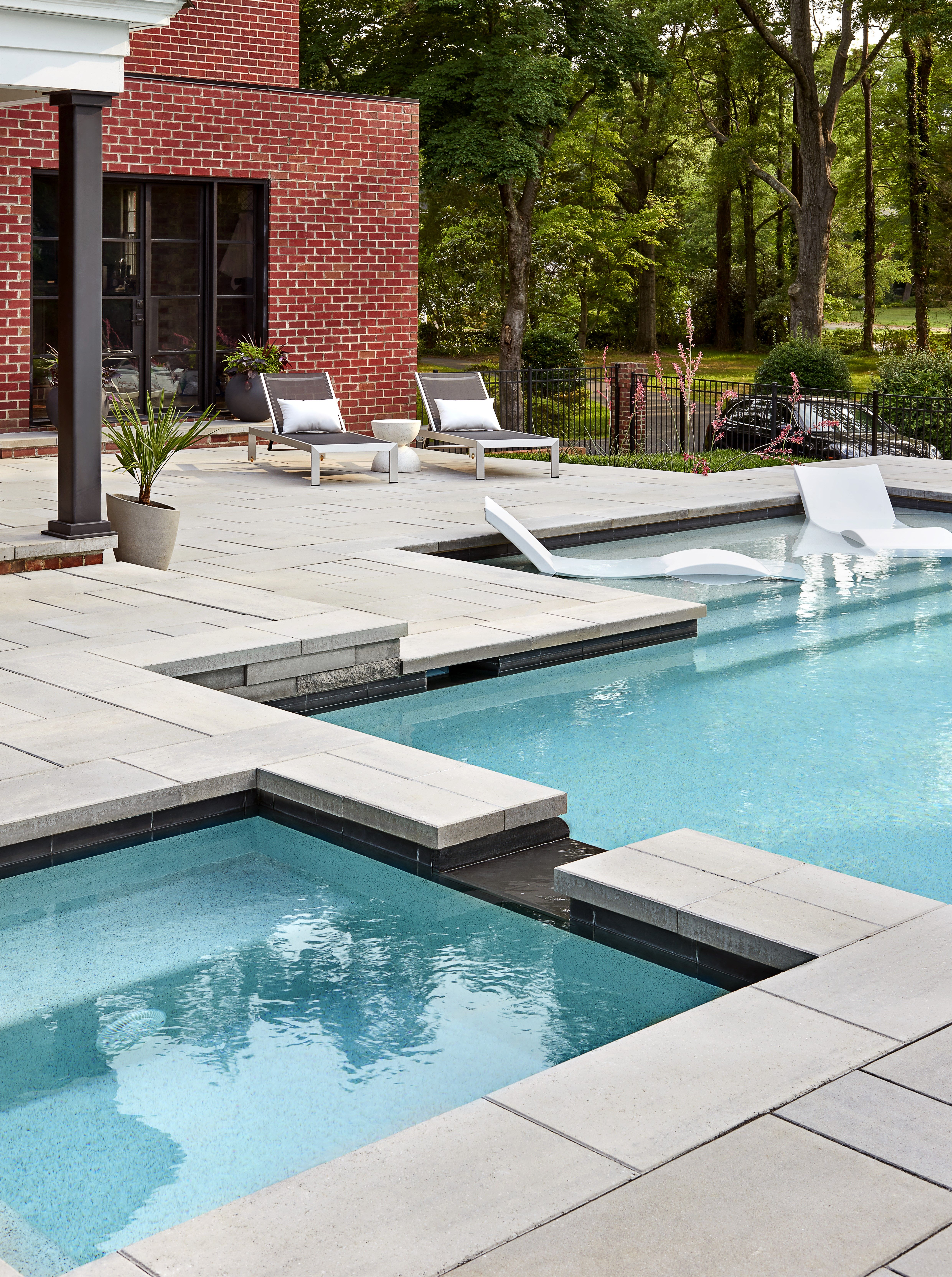 This Backyard Swimming Pool Design Is Inspired By Our Para Patio