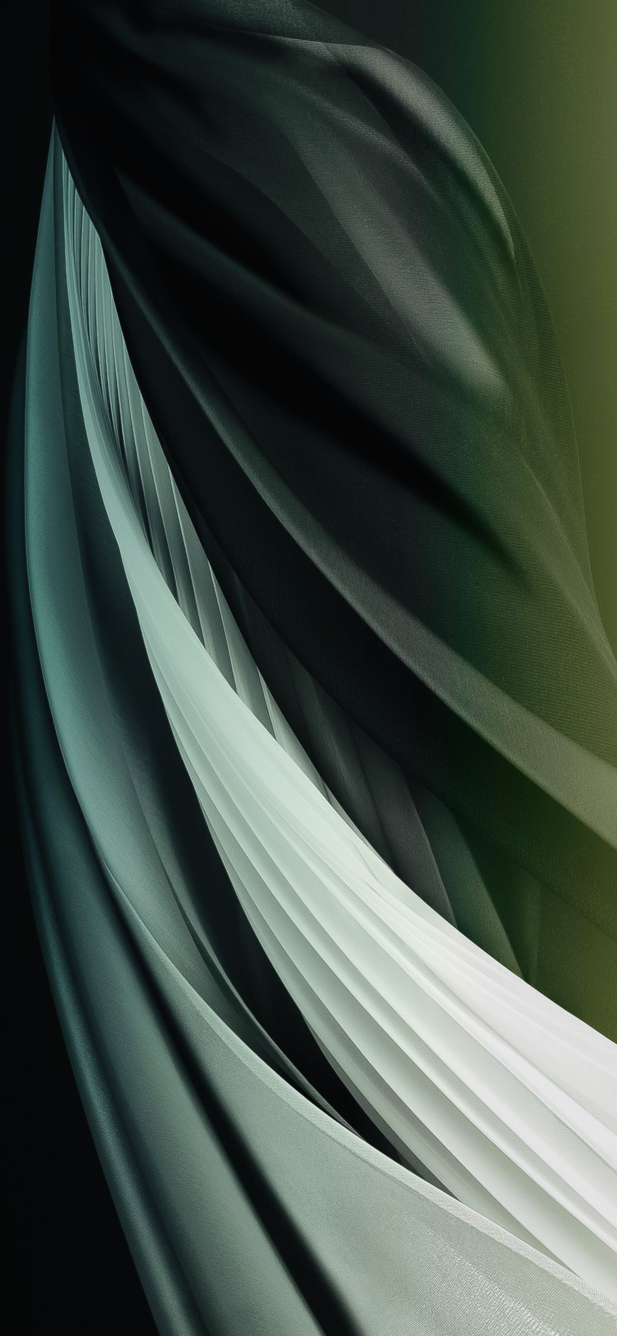 Ios14 Concept V8 Midnight Green Light Galaxy Phone Wallpaper Backgrounds Phone Wallpapers Abstract Wallpaper Backgrounds