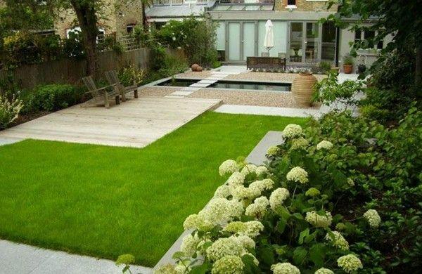 beispiele für moderne gartengestaltung pool | garten | pinterest ... - Moderne Gartengestaltung Mit Pool