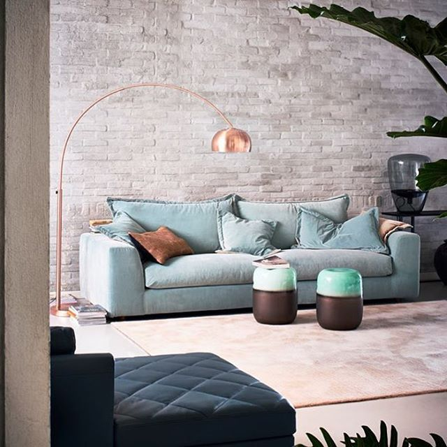 Some Dutch inspiration for our new indoor collection. The stunning Bank Cloud sofa from Linteloo.  #squarefoxinspo #dutchdesign