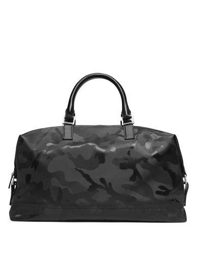 fdf1b5dbeb357 Michael Kors Camo Print Convertible Duffel Bag Men s Black ...