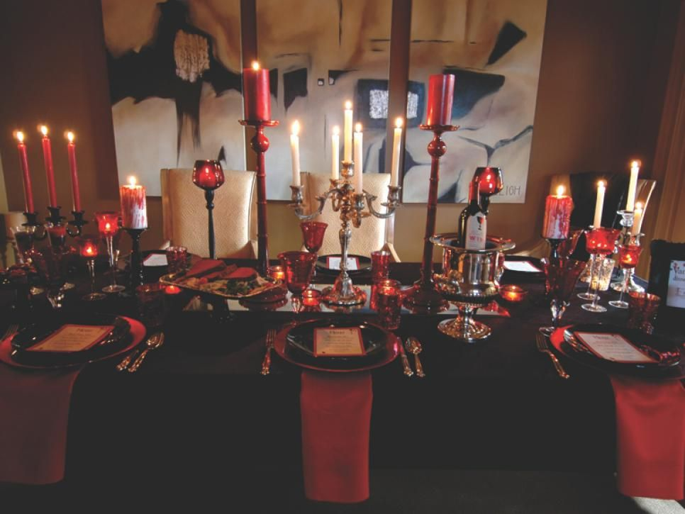 10 halloween table decorations settings