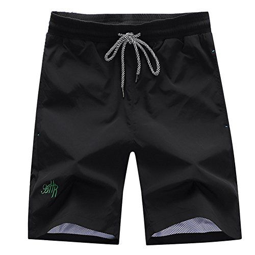 Deercon Men's Quick-Dry Swimwear Shorts Sports Beach Boardshorts(7 colors M-3XL) <3 This is an Amazon Associate's Pin. Clicking on the image will lead you to the Amazon website.