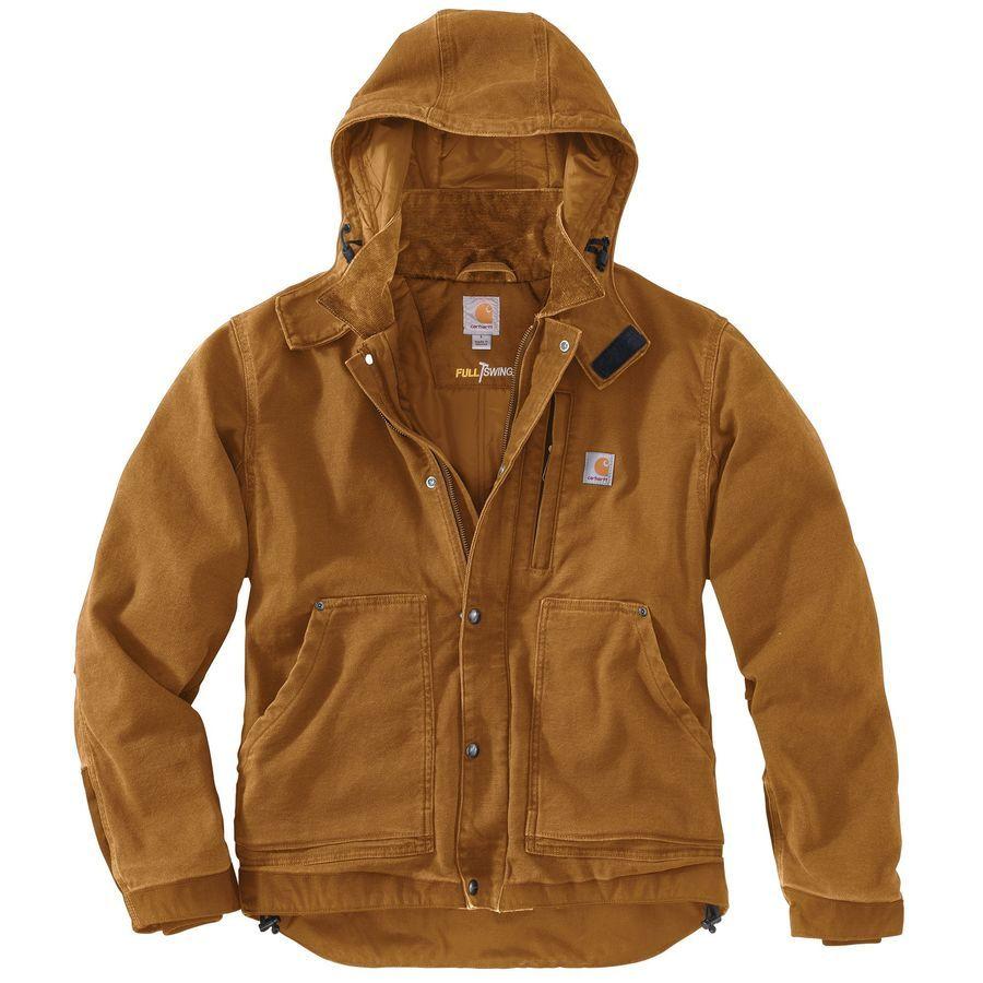 Carhartt Full Swing Caldwell Jacket Men S Carhartt Brown Mens Jackets Casual Carhartt Jacket Jackets [ 900 x 900 Pixel ]