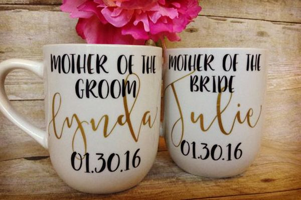 Regalos para la mamá de la novia y del novio en la boda