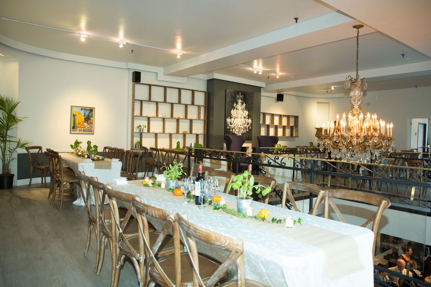 A beautiful fall harvest themed wedding at la maquette