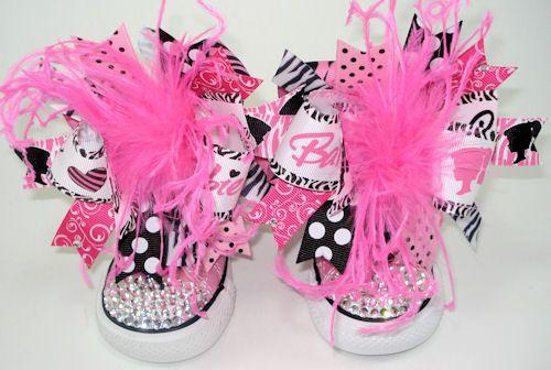 Barbie Swarovski Crystal Bling Converse