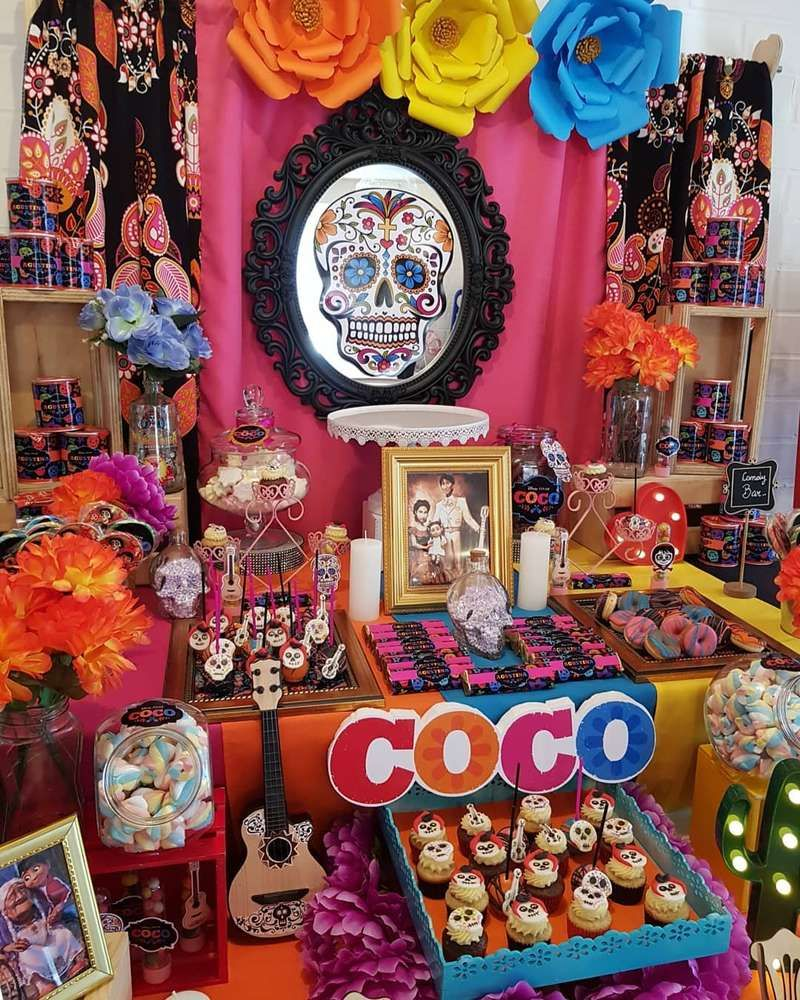 Coco Birthday Party Ideas With Images Birthday Party