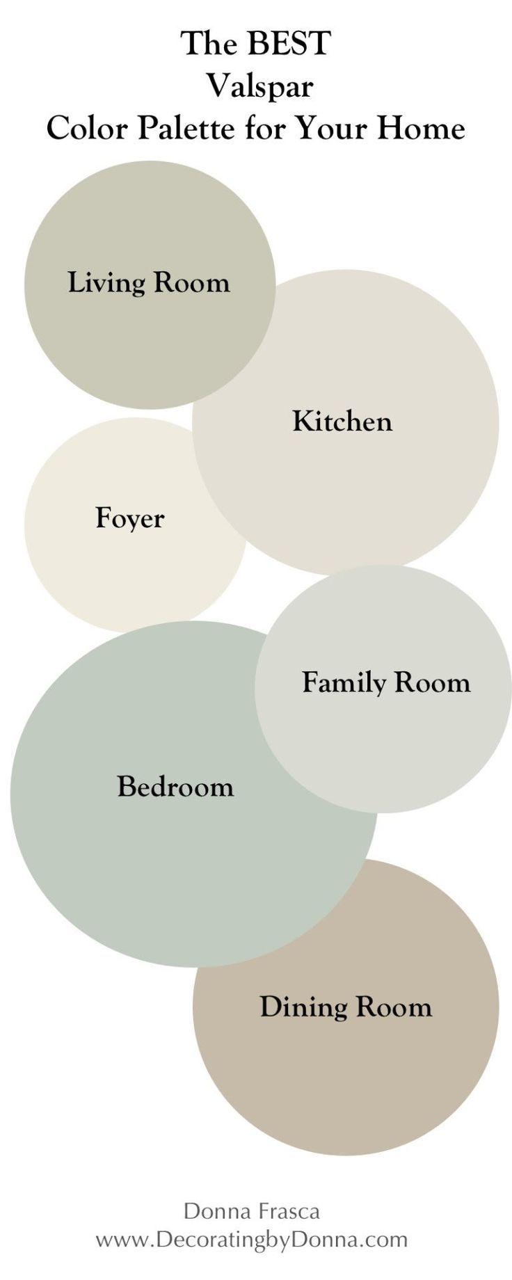 Photo of Den beste Valspar-fargepaletten for ditt hjem | Landsmalingsfarger | Stue maling …