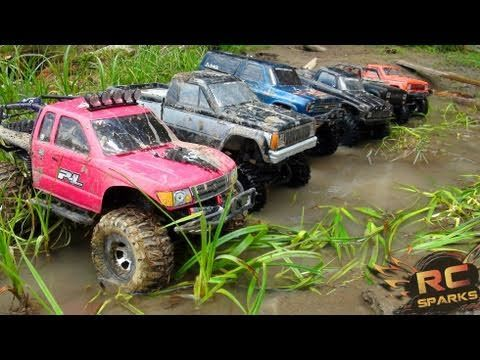 Rc Adventures 6 Scale Rc 4x4 Trucks In Mud Dirt A Forest Group