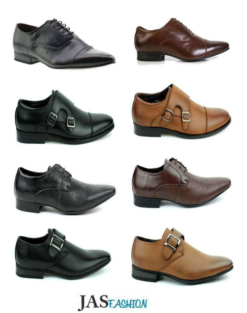 Goor Boys Brogues Formal Shoes Smart Wedding Dress Suit Lace Up Oxford Size