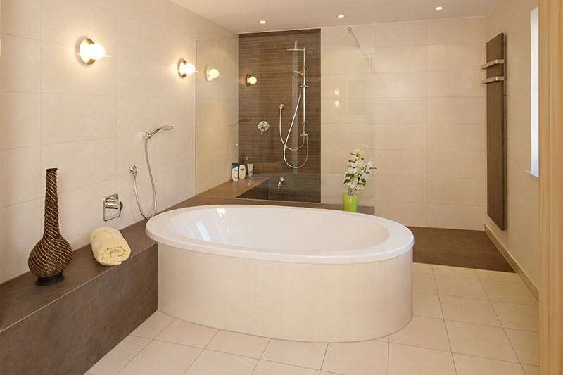 badezimmer fliesen braun beige in 2020  badezimmer braun