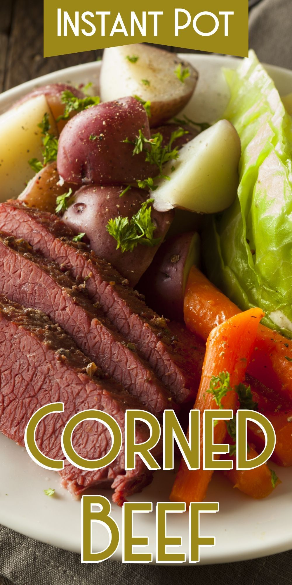 Corned Beef Can Be A Satisfying Dinner With Cabbage Potatoes Turnips And Carrots Slow Cooker Corned Beef Ground Beef And Cabbage Instant Pot Recipes