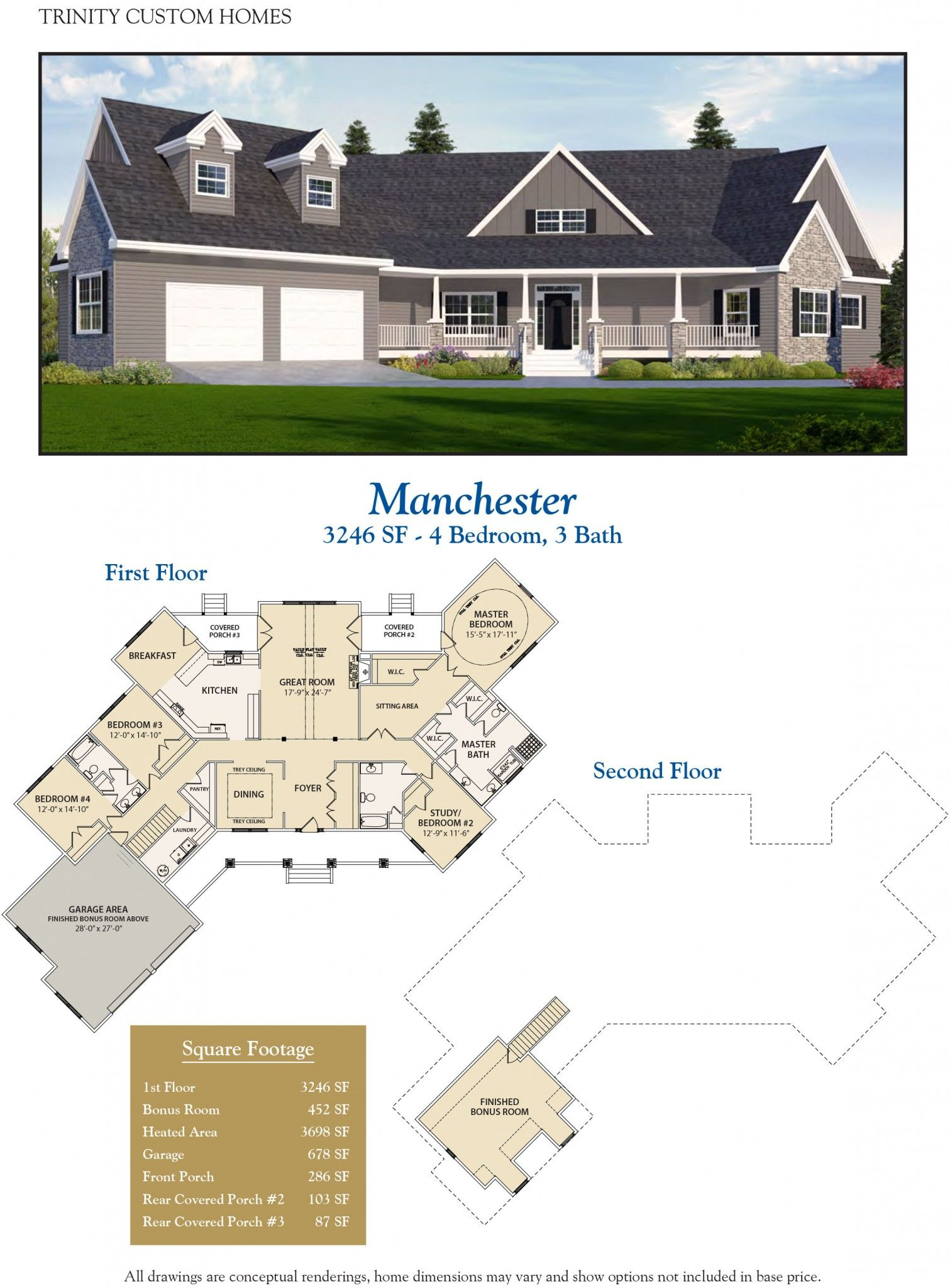 Stupendous Manchester Welcome To Trinity Custom Homes New House In Download Free Architecture Designs Oxytwazosbritishbridgeorg
