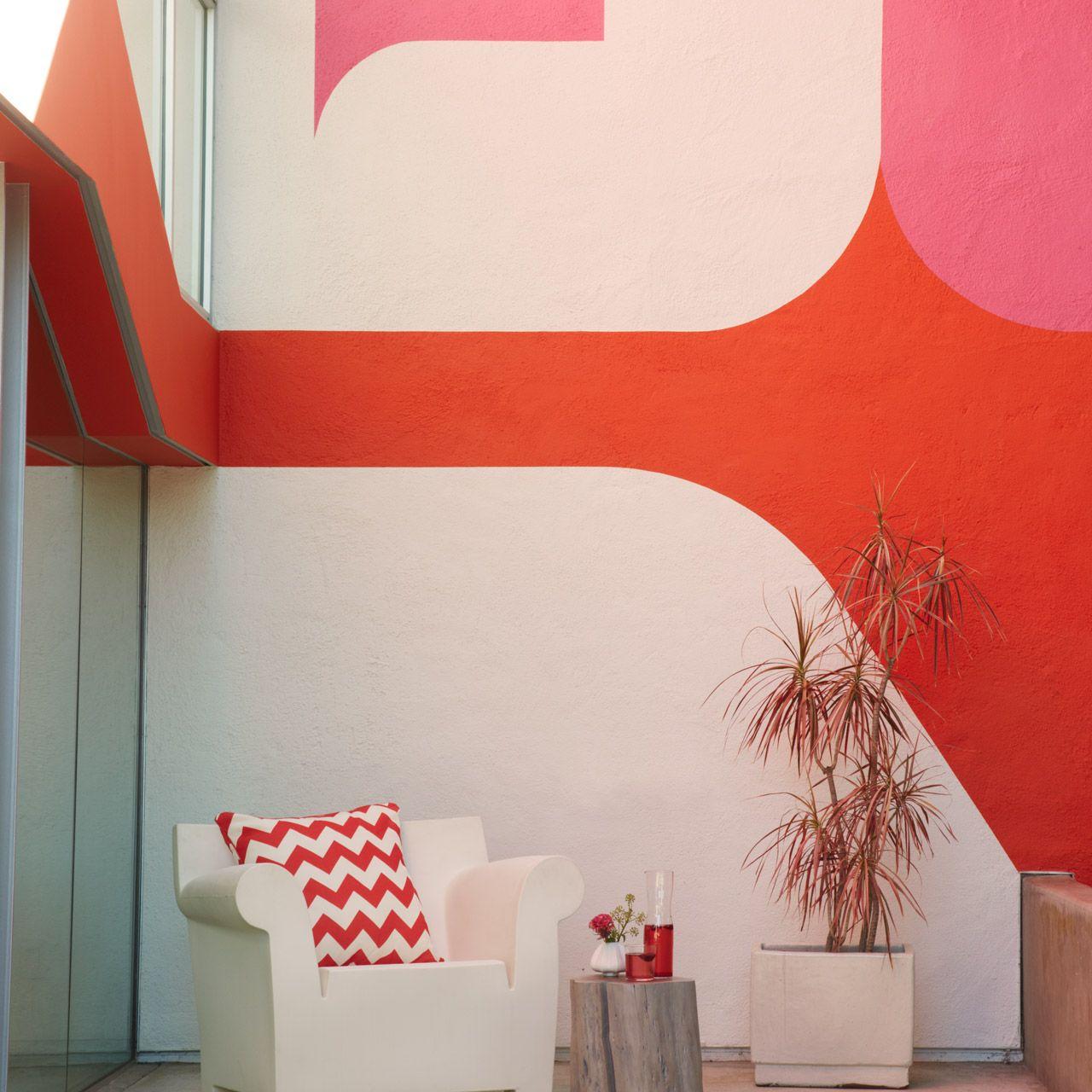 Dunn Edwards Paints Paint Colors Walls White Dew380 Accent Pink Dahlia Det419 Le Corbusier Crush Det421 Click For A Free Color Sample