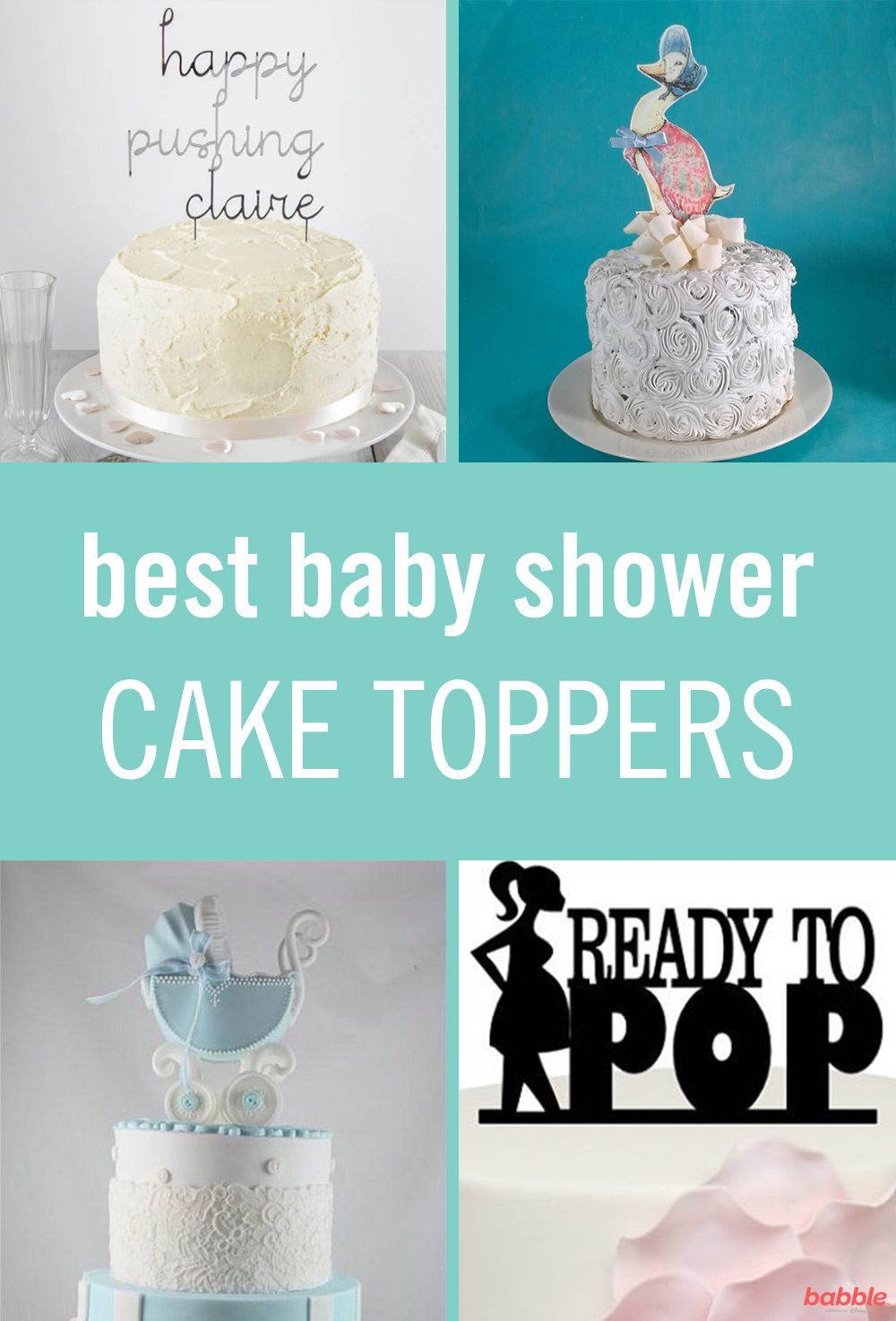 Disney Family Recipes Crafts And Activities Baby Shower Cake Topper Baby Shower Cakes For Boys Baby Shower Cakes