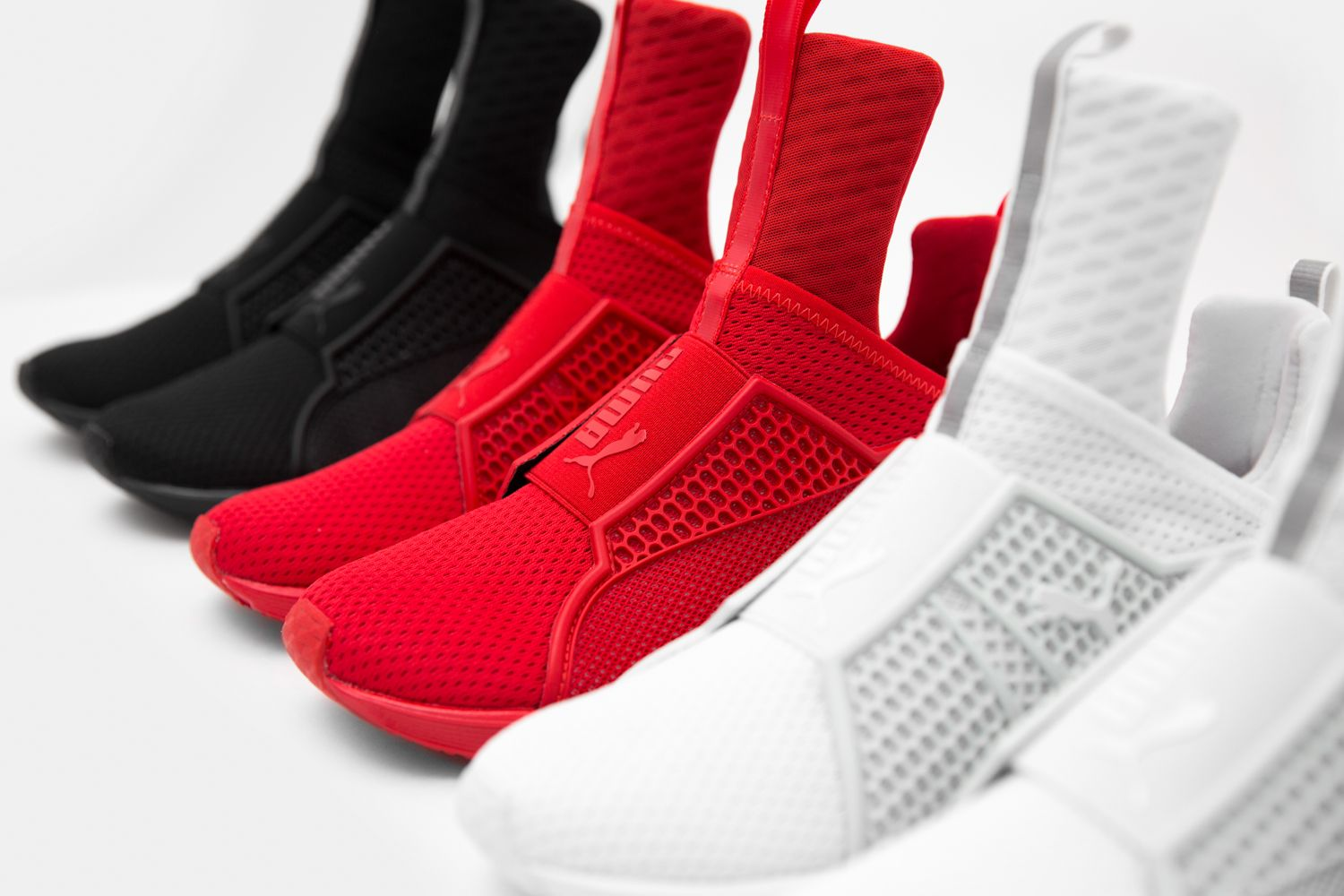 Puma (xRihanna) Fenty Trainer, the popularity of this sneaker is off the  scale, watch out for the fakes already being sold online.