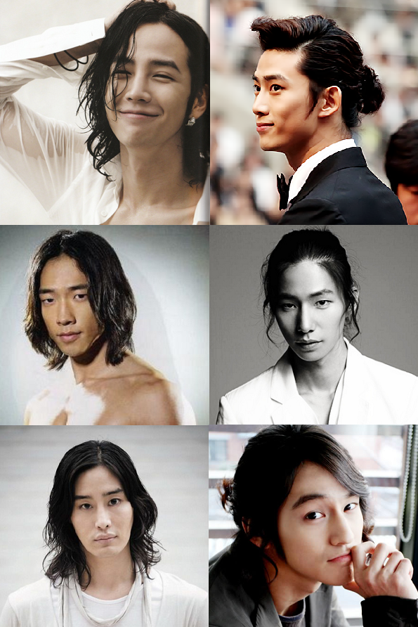 The 11 Best And Worst Long Hairstyles On K Drama Actors Long Hair Styles Men Asian Men Long Hair Long Hair Styles