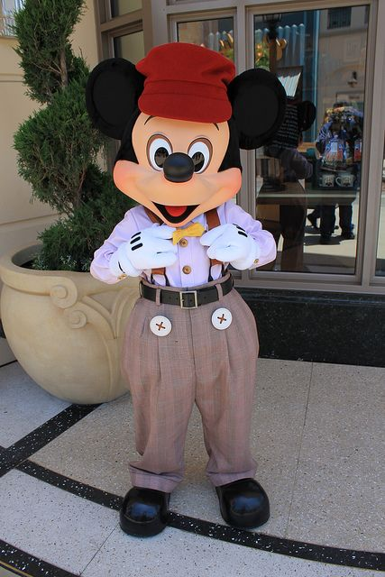 Buena Vista Street Mickey