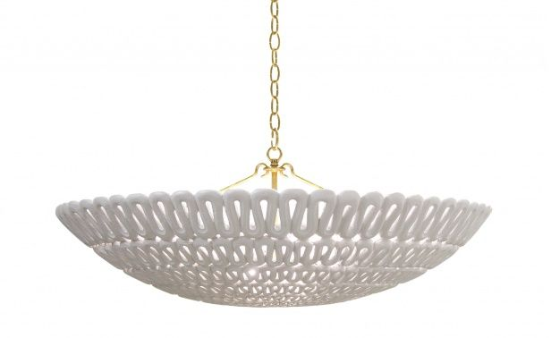 Coco republic pipa bowl chandelier