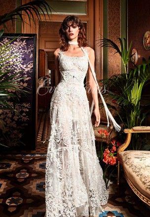 vestido de novia modelo grama. yolancris colección 2017 en eva