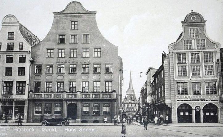 Rostock Haus Sonne Altes Rostock Pinterest