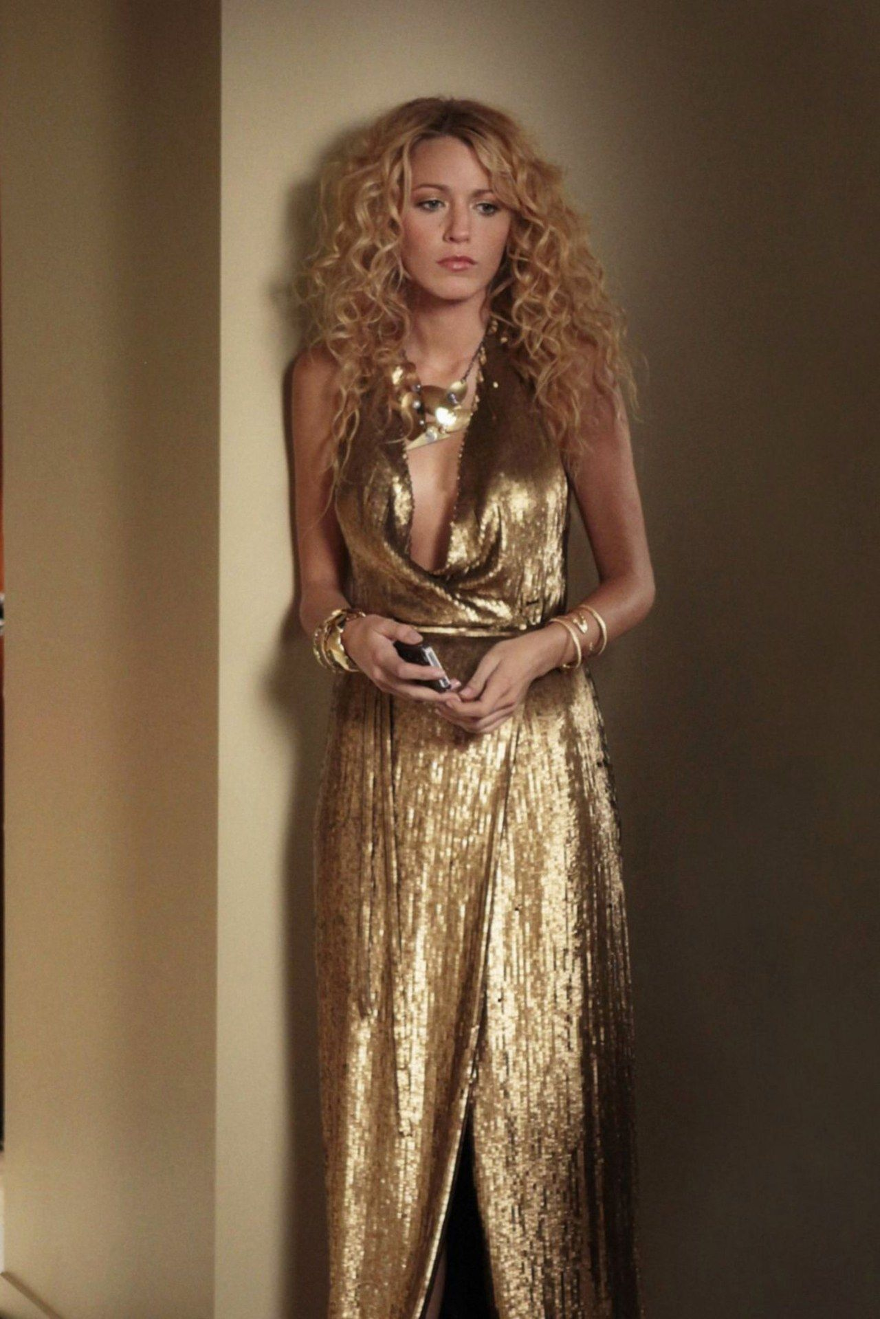 22+ Blake lively gold dress ideas in 2021
