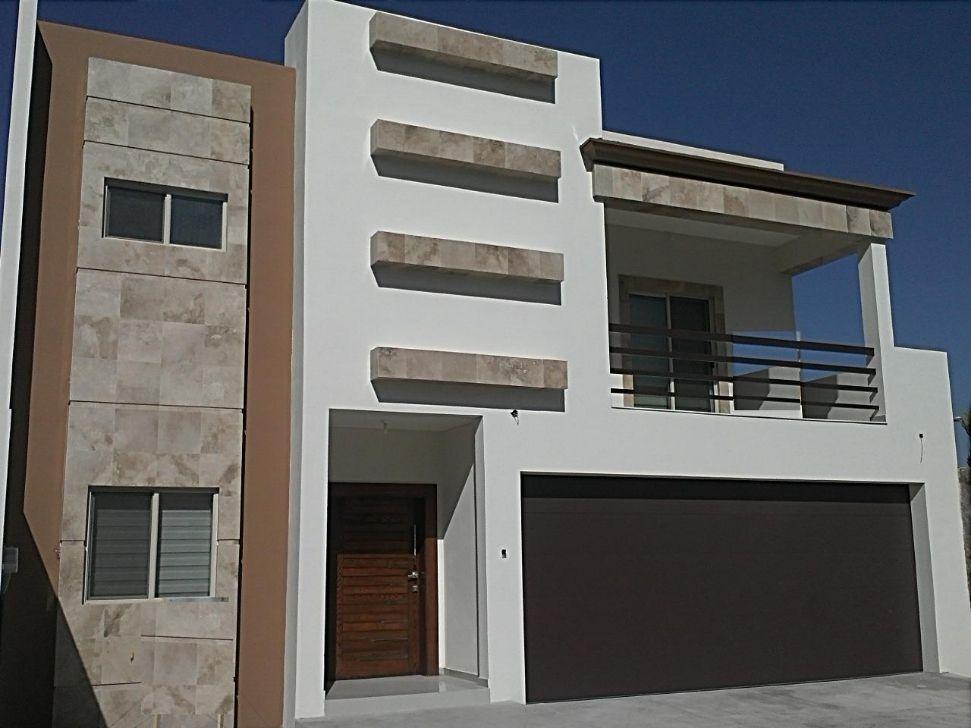 Utilizaci n de piedra en fachadas modernas ideas para for Ideas para frentes de casas