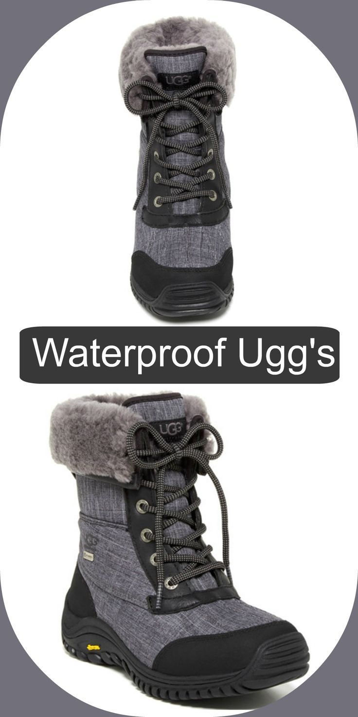 UGG Australia Adirondack UGGpure(TM) Lined Waterproof Boot II #ugg #waterproof #