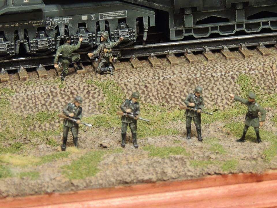 enrique262   Masterpiece, Diorama, Railroad tracks