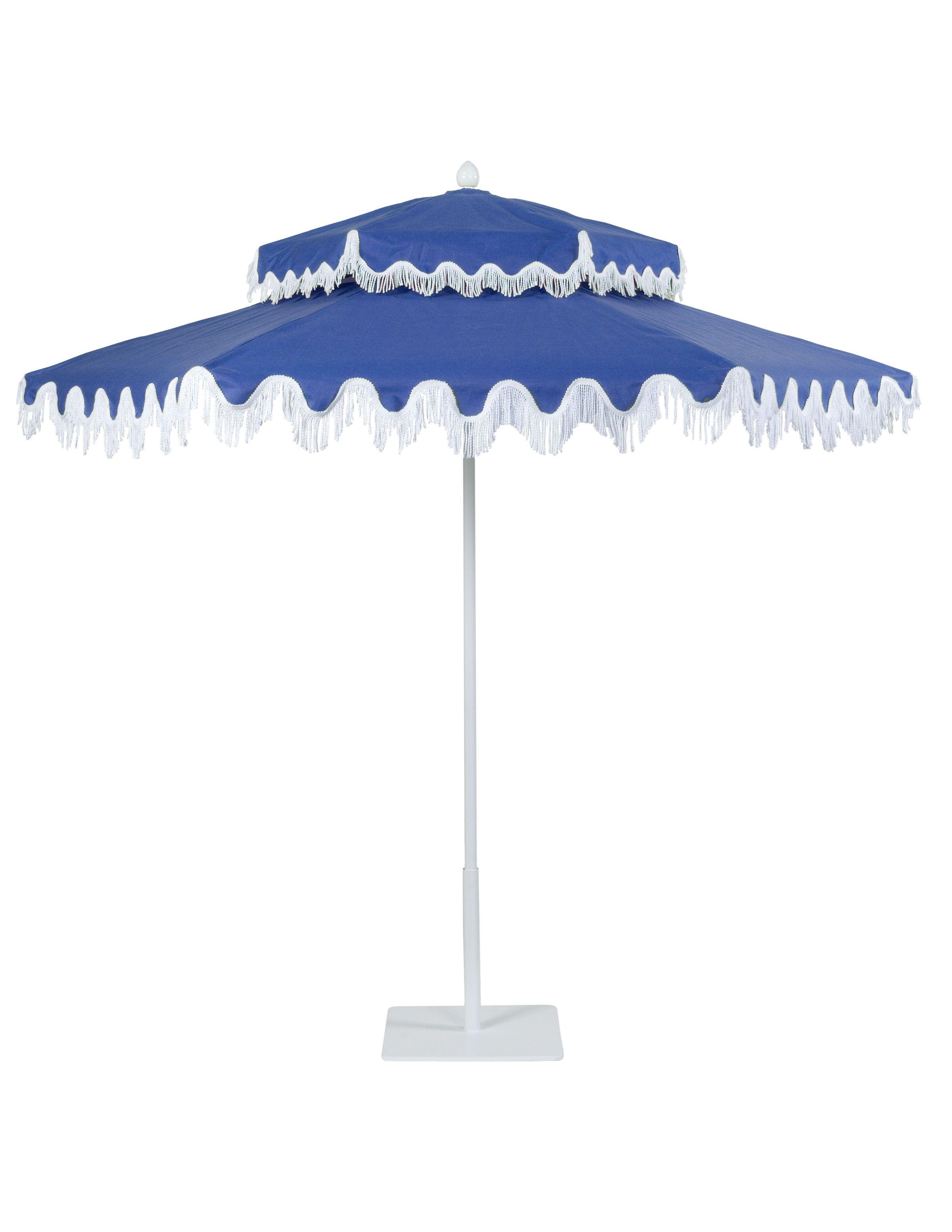 Santa Barbara Patio Umbrella: This Belongs In The Backyard Of My Dreams.