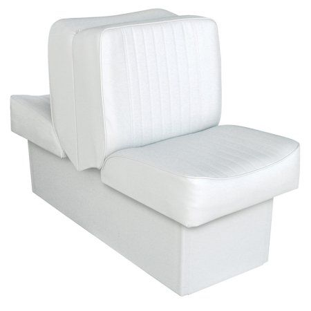Wise 8WD707P-1-710 Deluxe Series Lounge Seat, White