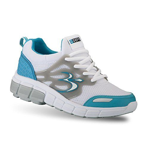 Gravity Defyer Womens Gdefy Galaxy Blue White Athletic Shoes 9 M Us