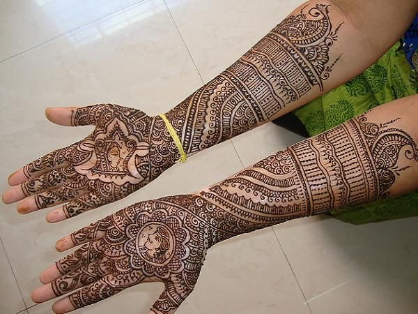 Bridal Mehndi Gallery : This is the image gallery of bridal wedding mehndi designs for hands