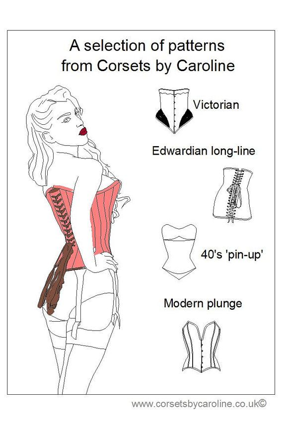 Corset classics: a selection of patterns from Corset by Caroline ...